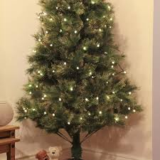 7ft green artifical christmas tree with gold glitter tips 200