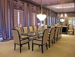 high end dining room sets dark brown varnish wood tabel orange