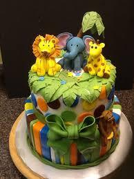 jungle theme cake lovely baby shower cake ideas jungle theme baby shower invitation