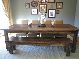 dining table used farmhouse dining tables for sale rustic wood
