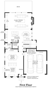 Canterbury Floor Plan by Canterbury Park The Seymour Home Design