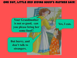 red riding hood story