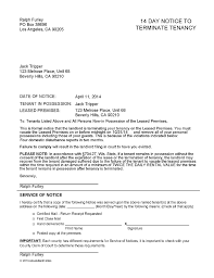 wisconsin 14 day notice to vacate ez landlord forms