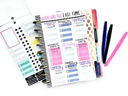 time design planner diy cleaning chart in the happy planner me my big ideas