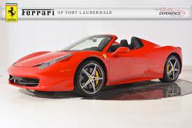 Ferrari 458 V8 - featured ferrari inventory ferrari of fort lauderdale