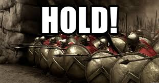 Sparta Meme Generator - hold 300 holding spartans meme generator