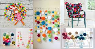 Homemade Pom Pom Decorations 13 Diy Pom Pom Decor Ideas That Are Cuteness Overload