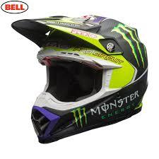 monster helmet motocross jd racing bell mx moto 9 flex helmet pro circuit 17