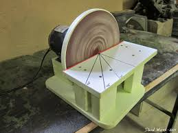 free homemade disc disk sander woodworking free tools build