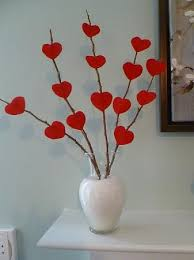 Valentine Decoration Ideas On Pinterest by Only From Scratch Valentine U0027s Day Mantel That Cost Me Nothing