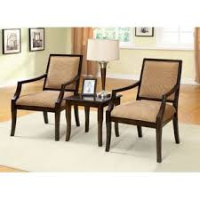 accent table and chairs set 3 piece accent chair and table wayfair