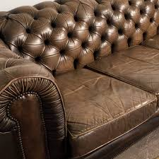 Chesterfield Sofa Vintage Sofa Vintage Chesterfieldofa Forale Leather Cigar 82 Marvelous