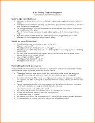 Resume Template For Teens Job Resume Example