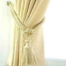Rope Curtain Tie Back Rope Curtain Ties Recyclenebraska Org