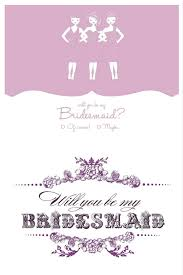 be my bridesmaid cards free will you be my bridesmaid cards