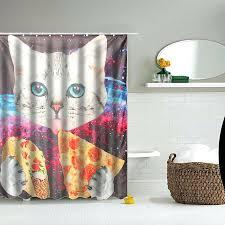 Hookless Shower Curtain Walmart Shower Curtains At Kohls Standard Shower Curtain Length Bright