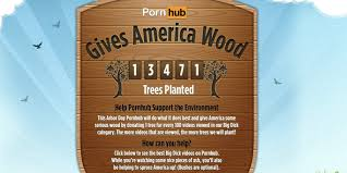 pornhub wants to give america wood literally huffpost