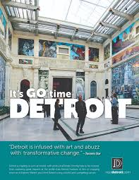 detroit metro convention visitors bureau it s go metro detroit visitors bureau unveils ad