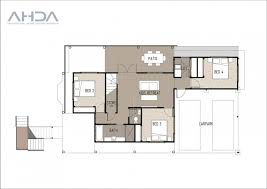 Traditional Queenslander Floor Plan T4018 By Architectural House Designs Australia New Traditional