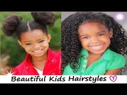 african american hairstyles for natural hair black kids curly