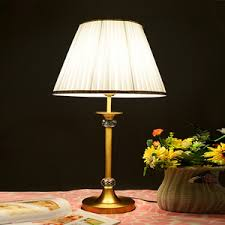 Traditional Brass Desk Lamps Glass Shade Luxury Style Polished Brass Table Lamps