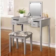flip top mirror bedroom u0026 makeup vanities you u0027ll love wayfair