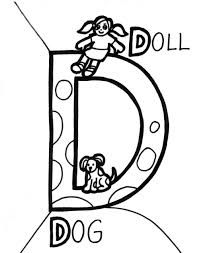 alphabet coloring pages printable d alphabet coloring pages printable alphabet coloring pages free