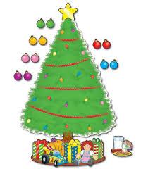 big christmas tree bulletin board set grade pk 5 carson dellosa