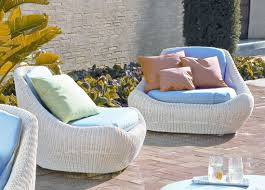 White Wicker Outdoor Patio Furniture Modern White Wicker Outdoor Furniture Patio Plus Inspirations
