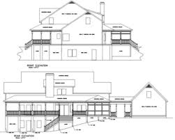 Floor Plans And Elevations Of Houses Farmhouse Style House Plan 4 Beds 3 50 Baths 3493 Sq Ft Plan 56 222