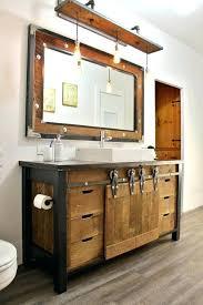 distressed wood bathroom vanity medium size of bathrooms