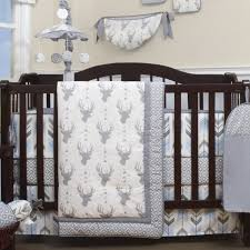 Baby Deer Crib Bedding Doug Deer Nursery Arrow 13 Crib Bedding Set
