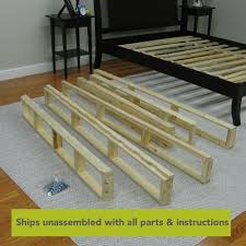 Instant Bed Instant Foundation 8 Inch Easy To Assemble Box Spring For Bed