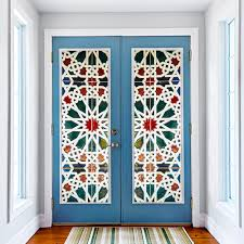 Wall Decals Patterns Color The by Kaleidoscope Color Vinyl Glass Wall Stickers 3d Diy Door Window