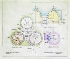 superior atrium house plans 4 earthbag dome space planning for