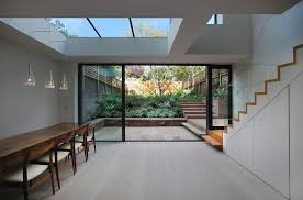 daylight basement walkout basement contemporary with dinesen flooring manufactured