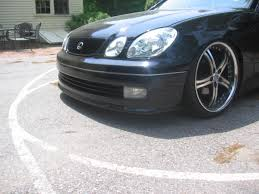 lexus tte wheels 2nd gen gs rep tte front lip for 109 98 shipped club