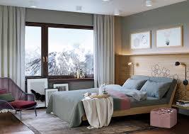 Schlafzimmer Im Chalet Stil Haus Alpenrose U2013 Ganter