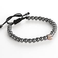 beaded bracelet girl images Mcllroy summer bangle new style men girl bracelets skull breloques jpg