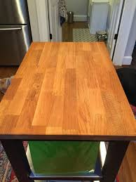how to revive old butcher block plus nachos the diy bungalow