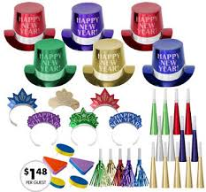 new years kits new year s party kits for 25 party city
