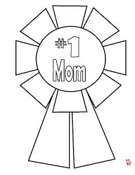 i love mom coloring page free download