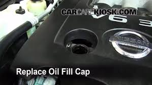 2005 nissan altima oil light reset how to add oil nissan altima 2002 2006 2006 nissan altima se 3 5l v6