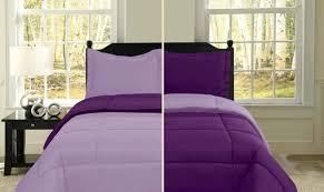 plain purple comforter 11253