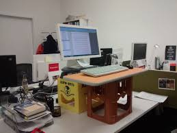 Cheap Standing Desk Ikea by Diy 46 Innovative Diy Desk Models Standing Desk Ikea Hack