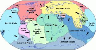 Map Of Tectonic Plates Plate Tectonics By Nathan Lowe