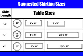 standard table runner size table skirts table skirt clips how to measure table skirting