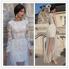perspective slim fit girls mini lace white evening party dress