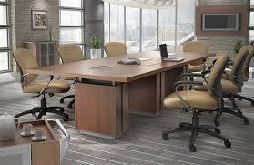 Office Boardroom Tables Zira Series Rectangular Boardroom Table By Global