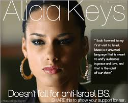 Alicia Keys Meme - alicia keys doesn t fall for anti israel bsisraeli side